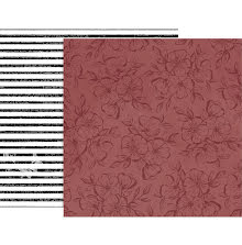 Pink Paislee Auburn Lane Double-Sided Cardstock 12X12 - #08