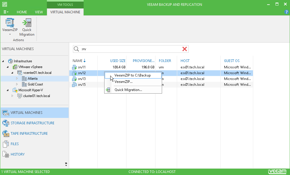 veeam free backup software