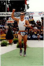Photo: Finish line in 2000