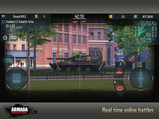 Armada: Modern Tanks - New Tank Fighting Game 3D 3.07 screenshots 1