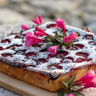 Strawberry Coconut Cheesecake [Vegan, Gluten-Free].