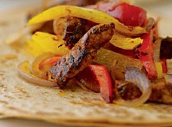 Chipotle Pork Fajita's Recipe