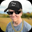 Thug Life Stickers: Pics Editor, Photo Maker, Meme icon
