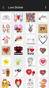 Love Sticker Ekran Görüntüsü