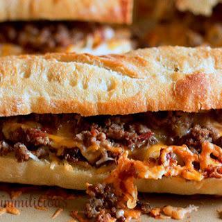 Bacon Cheeseburger Sandwiches