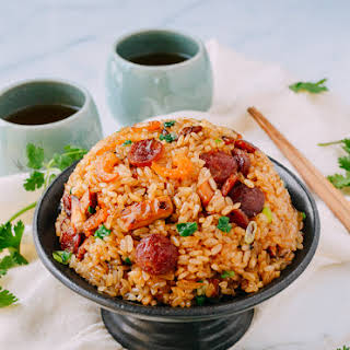 Sticky Rice w/ Chinese Sausage.
