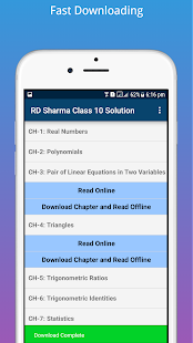 RD Sharma Class 10 Math Solution OFFLINE - náhled