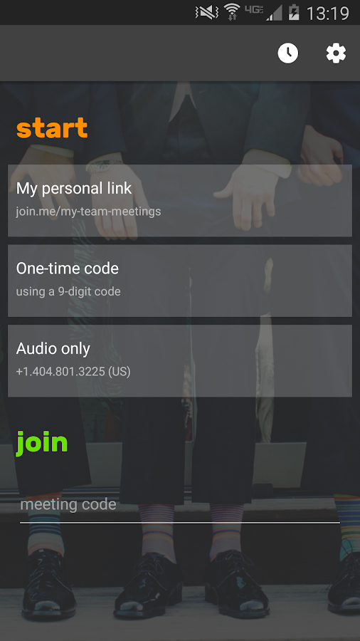 join.me- screenshot