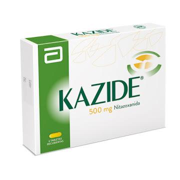 Kazide 500mg Tableta   Caja x6tab. Lafrancol Nitazoxanida