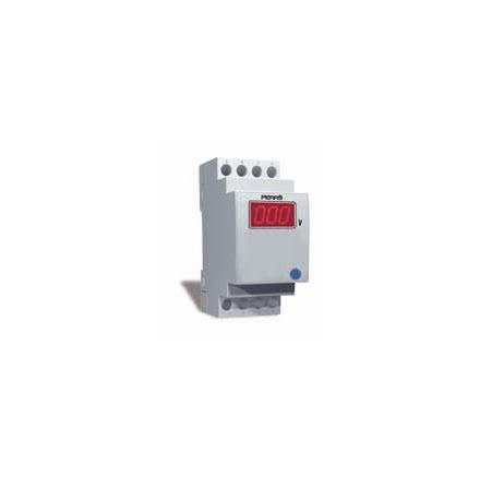 Amperemeter digital, 3-siffrig, 2 moduler, 230VAC
