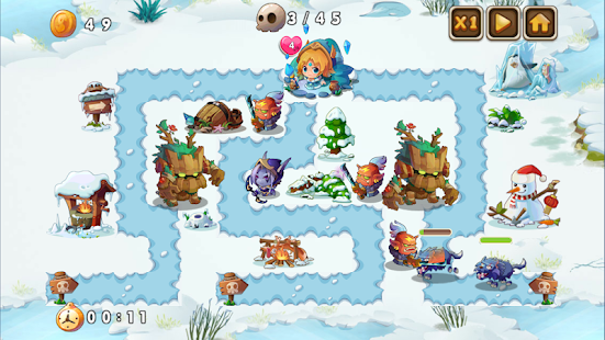 Heroes Defender Fantasy - Epic Tower Defense Game Screenshot