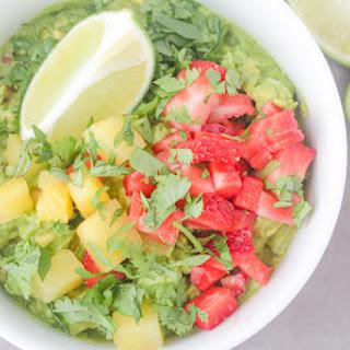 Strawberry + Pineapple + Avocado Dip