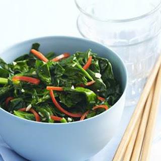 Chilli Garlic Spinach