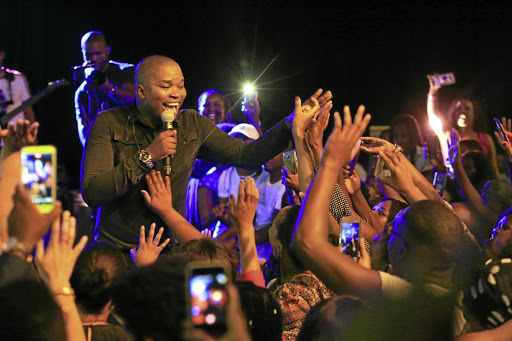 Gospel singer Dr Tumi Makweya filled up the Voortrekker Monument on Saturday.