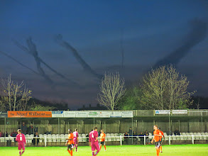 Photo: 15/04/14 v Lincoln Moorlands Railway (Northern Counties East League Premier Division) 4-0 - contributed by Leon Gladwell