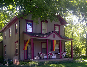 Photo: Rapp House,  New Harmony IN