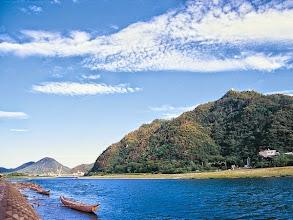 Photo: 清流長良川と金華山と岐阜城01