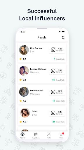 FameUp screenshot 2