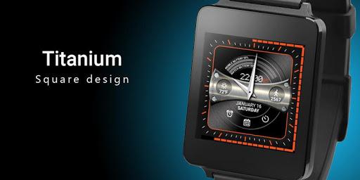 Titanium Watch Face  screenshots 8
