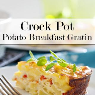 Crock Pot Potato Breakfast Gratin