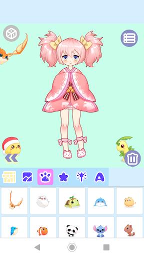 Code Triche Anime Dress Up: Cute Anime Girls Maker APK MOD screenshots 3