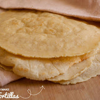 How to Make Corn Tortillas - The Best & Easiest GF Wraps.