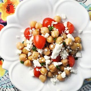 Chickpea, Feta & Tomato