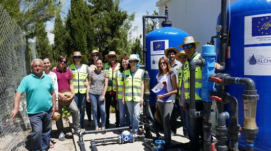 Los socios internacionales del proyecto 'Life+ Alchemia' visitan la provincia