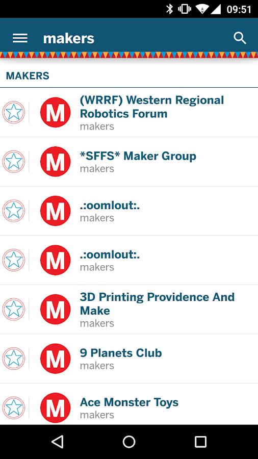 Maker Faire - The Official App - screenshot