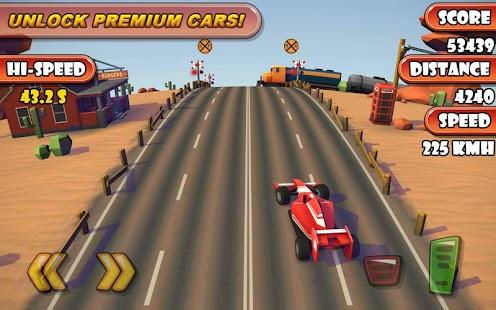 Highway Traffic Racer Planet Screenshot