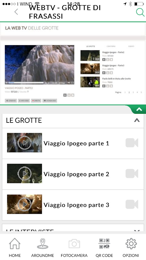 iFrasassi - Le Grotte- screenshot
