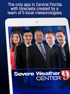WFTV Channel 9 Weather- screenshot thumbnail