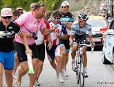 Alberto Contador veilt wielerfiets voor het Rode Kruis
