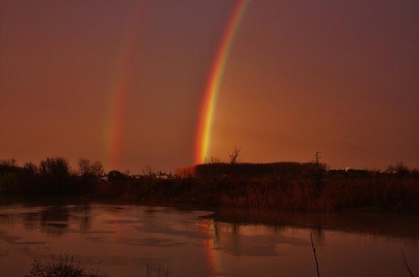 Double Delicate Rainbow. di Fabrizio Nicolò Rosada