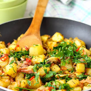 Pan Fried Breakfast Potatoes.