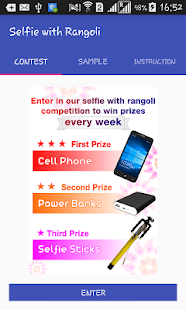 Tải Game selfie with rangoli