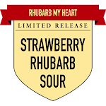 Button Rhubarb My Heart