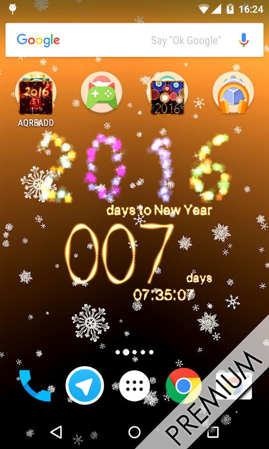 countdown neujahr