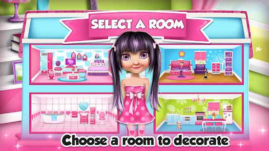 my doll house decoration games screenshot thumbnail - Decoration Games