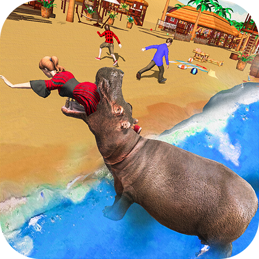Angry Hippo Attack Simulator-City & Beach Attack - Apps on