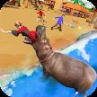 Angry Hippo Attack Simulator-City & Beach Attack APK
