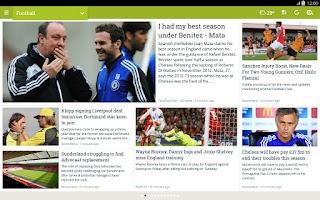 Screenshot of NewsLoop