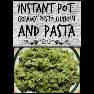 Instant Pot Creamy Pesto Chicken and Pasta Recipe