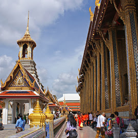 Grand Palace by Mulawardi Sutanto - Buildings & Architecture Public & Historical ( bangkok, grand, thailand, travel, palace )