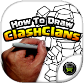 How To Draw of Clash Clans