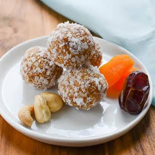 Apricot Date Nut Bites.