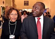 Deputy President Cyril Ramaphosa and wife Dr, Tshepo Motsepe attends the opening Plenary of the World Economic Forum (WEF) 2018 Annual Meeting addressed by India Prime Minister Modi in Davos, Switzerland.