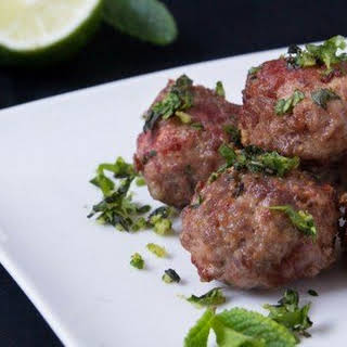 Beef Meatballs With Mint Recipes.
