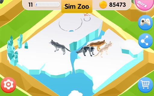 Sim Zoo - Wonder Animal 1.1.0 screenshots 11
