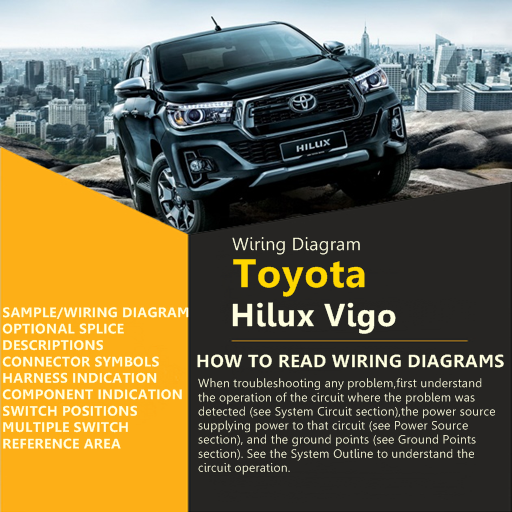 Wiring Diagram For Toyota Hilux Vigo - Apps on Google Play on how to drawings, how to drywall diagrams, how to abs, how to plumbing diagrams,